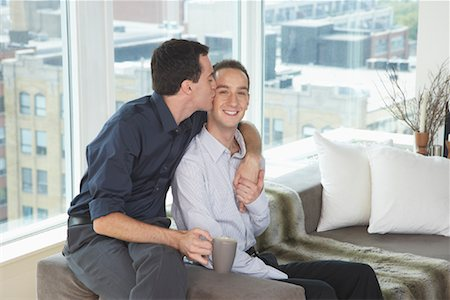 Couple at Home Stock Photo - Premium Royalty-Free, Code: 600-01644793
