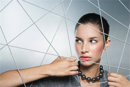Portrait of Woman Stock Photo - Premium Royalty-Free, Code: 600-01640034