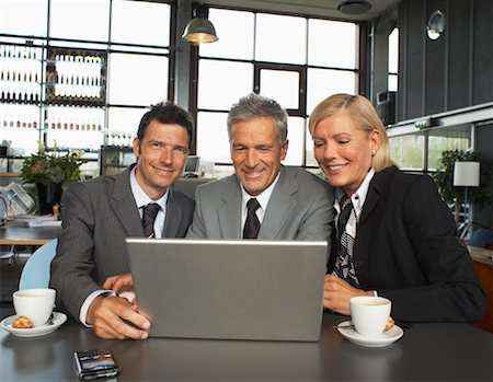 Business People with Laptop Computer Stock Photo - Premium Royalty-Free, Code: 600-01695540
