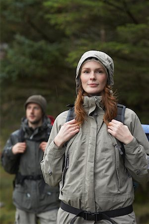 simsearch:600-00846421,k - Couple Backpacking Stock Photo - Premium Royalty-Free, Code: 600-01693944