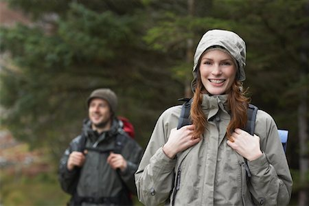 simsearch:600-00846421,k - Couple Backpacking Stock Photo - Premium Royalty-Free, Code: 600-01693945