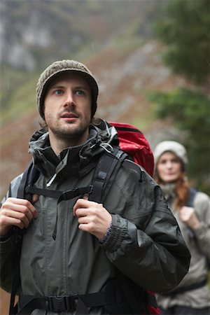 simsearch:600-00846421,k - Couple Backpacking Stock Photo - Premium Royalty-Free, Code: 600-01693947