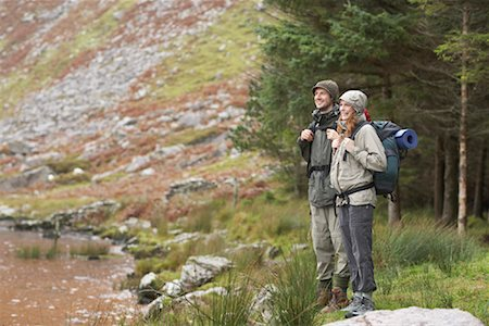 simsearch:600-00846421,k - Couple Backpacking Stock Photo - Premium Royalty-Free, Code: 600-01693949