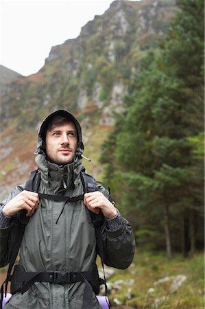 simsearch:600-00846421,k - Man Backpacking Stock Photo - Premium Royalty-Free, Code: 600-01693943