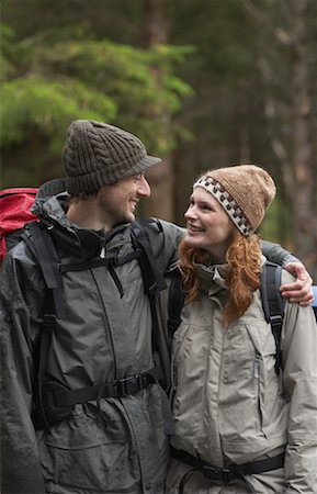 simsearch:600-00846421,k - Couple Backpacking Stock Photo - Premium Royalty-Free, Code: 600-01693953