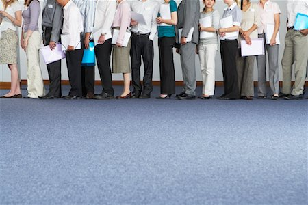 People Waiting in Line Stock Photo - Premium Royalty-Free, Code: 600-01716364