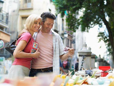 Couple Shopping Stock Photo - Premium Royalty-Free, Code: 600-01716390