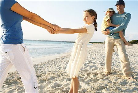 Family on Beach, Majorca, Spain Stock Photo - Premium Royalty-Free, Code: 600-01764772