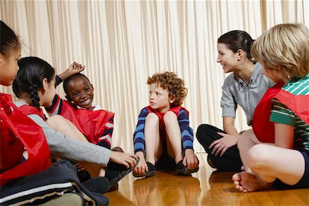 Coach Talking to Team Stock Photo - Premium Royalty-Free, Code: 600-01764822