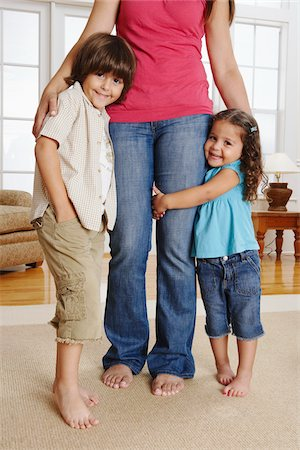 Children With Mother Stock Photo - Premium Royalty-Free, Code: 600-01787575