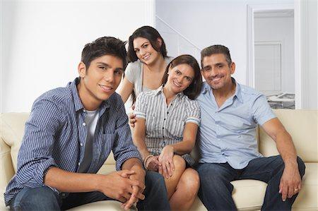 Portrait of Family Stock Photo - Premium Royalty-Free, Code: 600-01787696