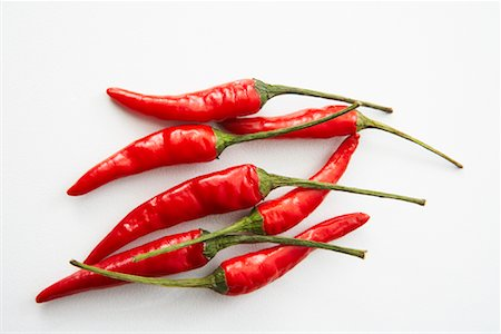 Thai Peppers Stock Photo - Premium Royalty-Free, Code: 600-01954656