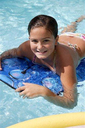 Girl in Swimming Pool Stock Photo - Premium Royalty-Free, Code: 600-02010386