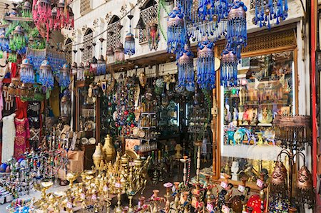 Bazaar at Khan Al-Khalili, Cairo, Egypt Stock Photo - Premium Royalty-Free, Code: 600-02033825
