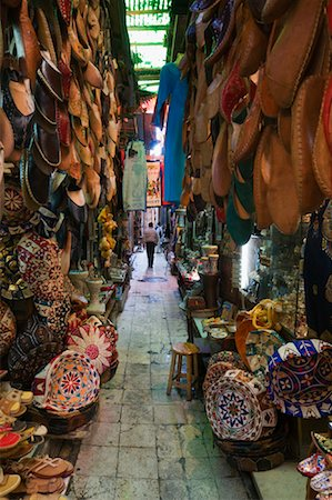 Bazaar at Khan Al-Khalili, Cairo, Egypt Stock Photo - Premium Royalty-Free, Code: 600-02033826