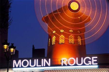 simsearch:600-02428966,k - Moulin Rouge, Paris, France Stock Photo - Premium Royalty-Free, Code: 600-02045893