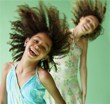 Sisters Dancing Stock Photo - Premium Royalty-Free, Code: 600-02046074