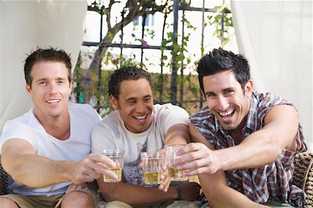 Men at a Party Stock Photo - Premium Royalty-Free, Code: 600-02046887