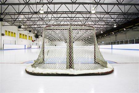 Hockey Net Stock Photo - Premium Royalty-Free, Code: 600-02056037
