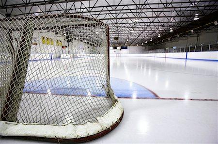 Hockey Net Stock Photo - Premium Royalty-Free, Code: 600-02056038