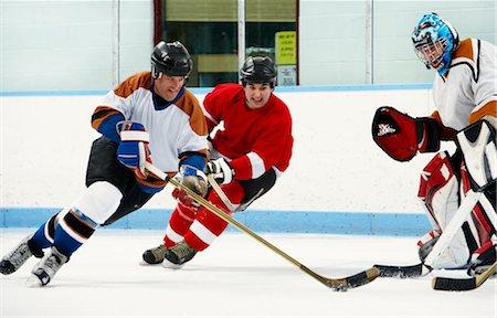 Hockey Game Stock Photo - Premium Royalty-Free, Code: 600-02056059