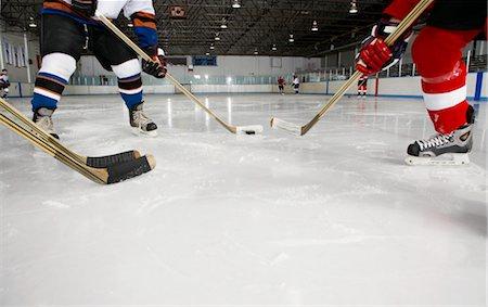 Hockey Game Stock Photo - Premium Royalty-Free, Code: 600-02056051