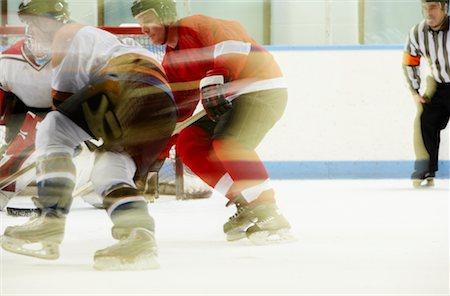 Hockey Game Stock Photo - Premium Royalty-Free, Code: 600-02056064