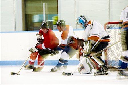 Hockey Game Stock Photo - Premium Royalty-Free, Code: 600-02056061
