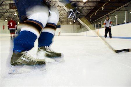 Hockey Game Stock Photo - Premium Royalty-Free, Code: 600-02056070