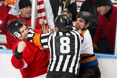 Hockey Fight Stock Photo - Premium Royalty-Free, Code: 600-02056087