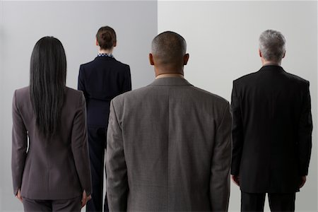 Backs of Business People Stock Photo - Premium Royalty-Free, Code: 600-02063417