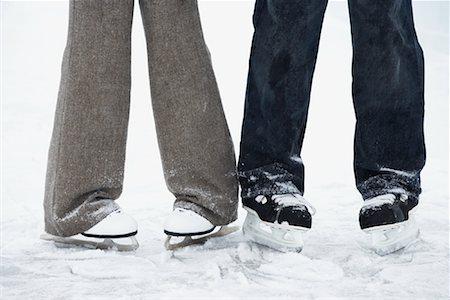 Couple on Skates Stock Photo - Premium Royalty-Free, Code: 600-02200094