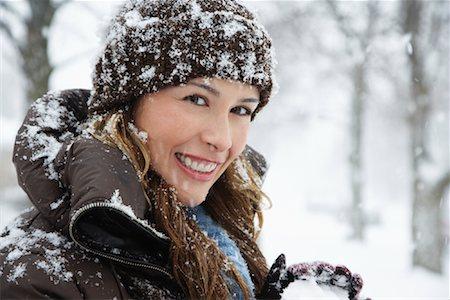 Portrait of Woman Stock Photo - Premium Royalty-Free, Code: 600-02200107