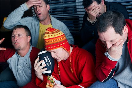 Men Watching Sports on TV Stock Photo - Premium Royalty-Free, Code: 600-02200114