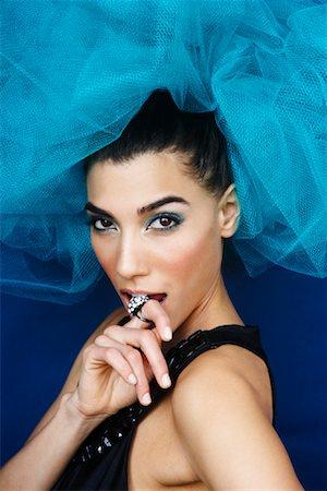 Portrait of Woman Stock Photo - Premium Royalty-Free, Code: 600-02200229