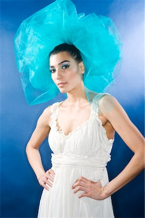 Portrait of Woman Stock Photo - Premium Royalty-Free, Code: 600-02200220