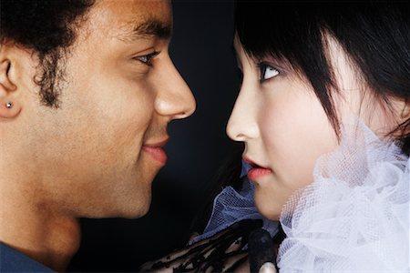 Portrait of Couple Stock Photo - Premium Royalty-Free, Code: 600-02200285