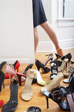 Woman Getting Dressed Stock Photo - Premium Royalty-Free, Code: 600-02200702