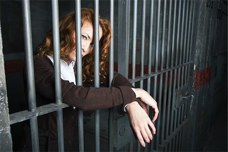 female only - Woman in Prison Stock Photo - Premium Royalty-Free, Code: 600-02201372