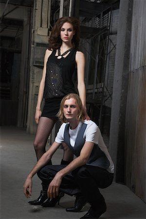 Portrait of Couple Stock Photo - Premium Royalty-Free, Code: 600-02201484
