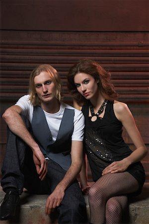 Portrait of Couple Stock Photo - Premium Royalty-Free, Code: 600-02201488