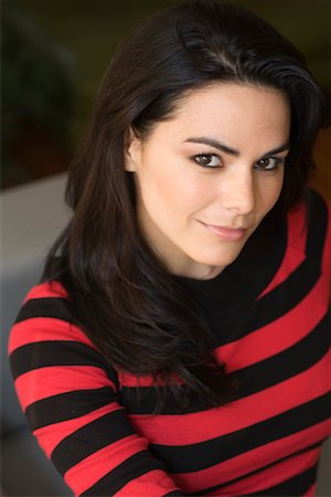 Portrait of Woman Stock Photo - Premium Royalty-Free, Code: 600-02216999