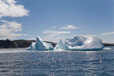 Iceberg, Newfoundland, Canada Stock Photo - Premium Royalty-Free, Code: 600-02264001