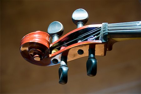 scroll (design) - Close-up of Violin Stock Photo - Premium Royalty-Free, Code: 600-02264353