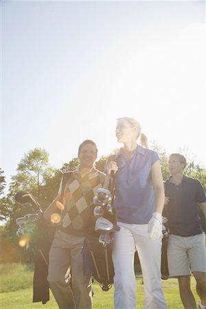 People Golfing Stock Photo - Premium Royalty-Free, Code: 600-02264564
