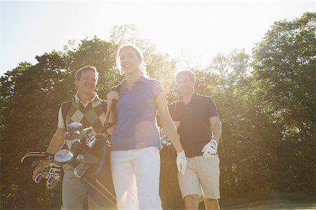 People Golfing Stock Photo - Premium Royalty-Free, Code: 600-02264563