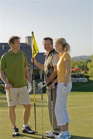 People Golfing Stock Photo - Premium Royalty-Free, Code: 600-02265676