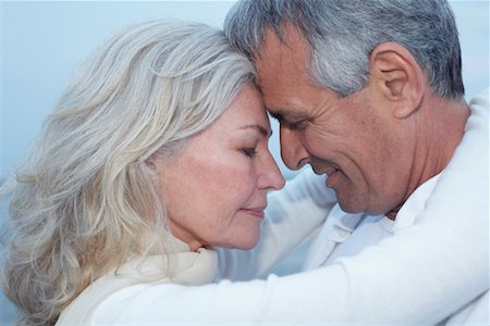 Close-Up of Couple Stock Photo - Premium Royalty-Free, Code: 600-02346328