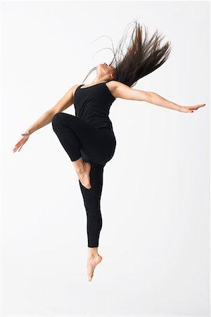 Portrait of Dancer Stock Photo - Premium Royalty-Free, Code: 600-02346564