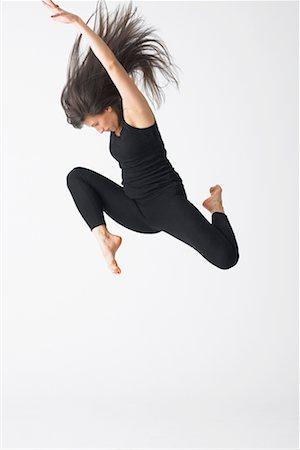 Portrait of Dancer Stock Photo - Premium Royalty-Free, Code: 600-02346560